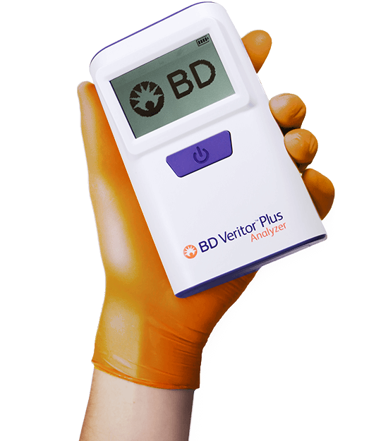 verify diagnostics bd veritor covid